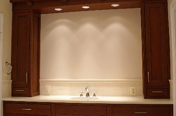 Vanities Traditional Stained