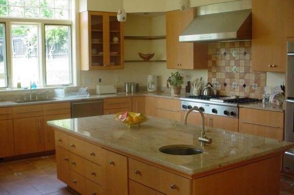 Polished Granite Countertops